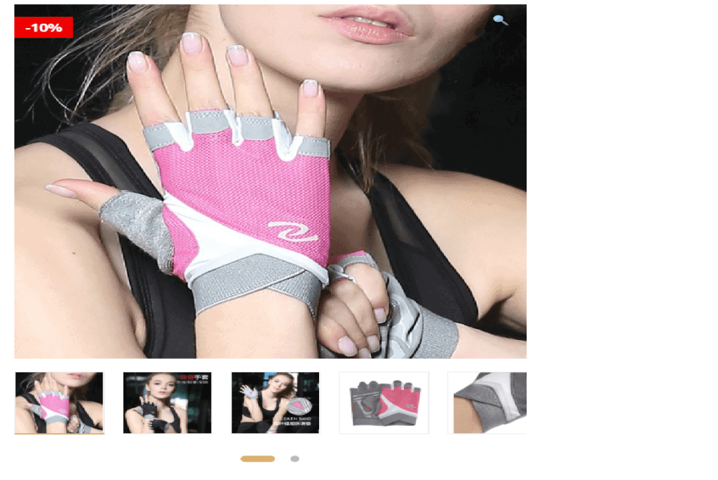 Now Even Women Can Wear Sports Gloves-Professional Breathable Non-Slip Women Sports Gloves